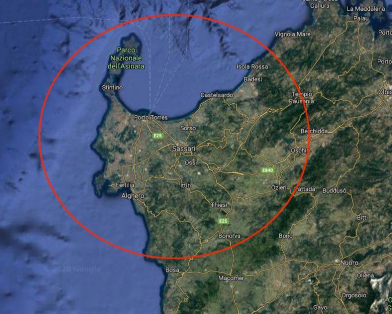 itinerario sardegna nord famiglia la mappa della costa nord ovest