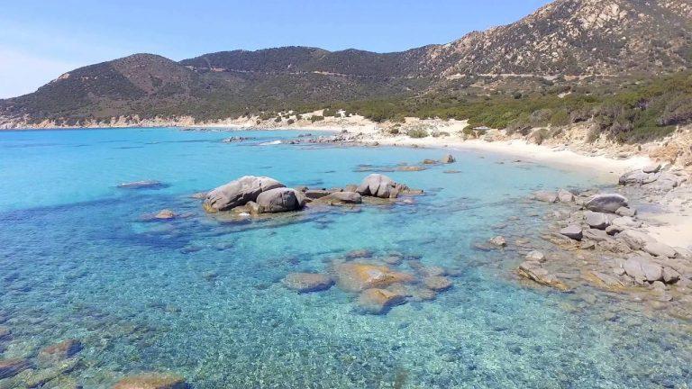 Un paradiso come spiaggia più bella della Sardegna sud est, sa ruxi